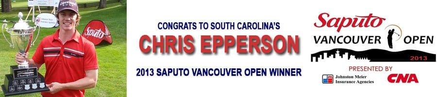 Chris Epperson 2013 Vancouver Open Winner