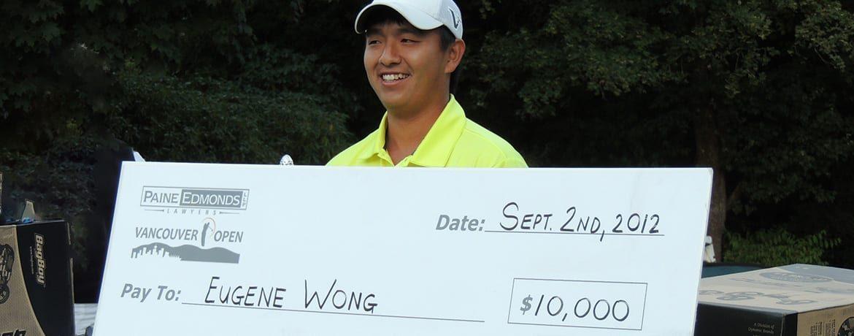 Eugene Wong - 2012 Vancouver Open Winner