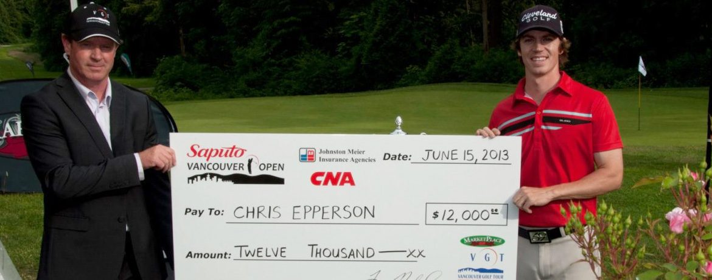 Chris Epperson - 2013 Vancouver Open Winner