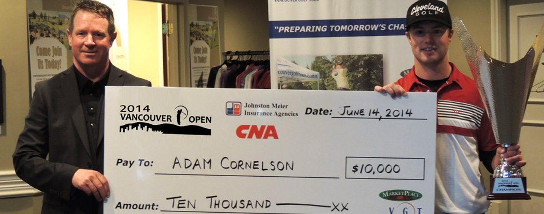 Adam Cornelson - 2014 Vancouver Open Winner