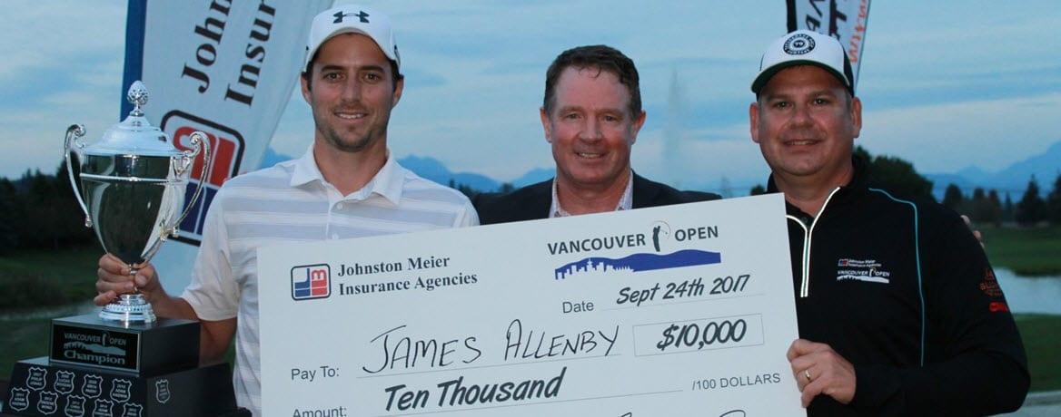 James Allenby - 2017 Vancouver Open Winner