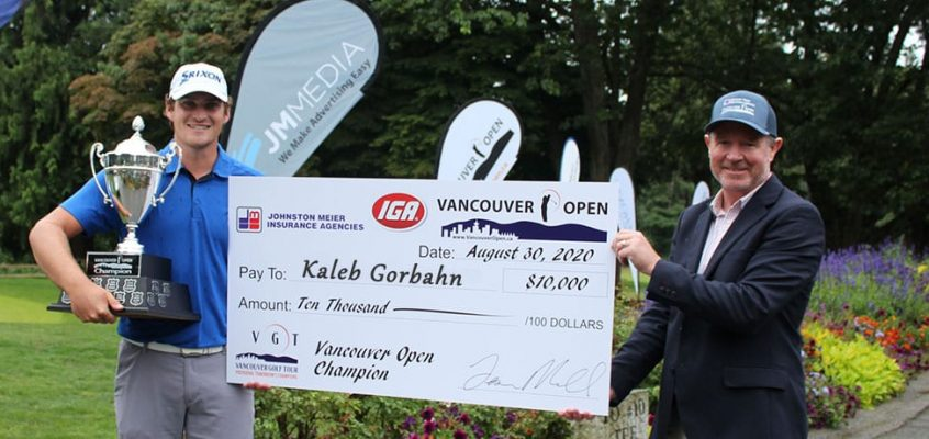 Gorbahn Over-Powers Field on Route to First Van Open Win